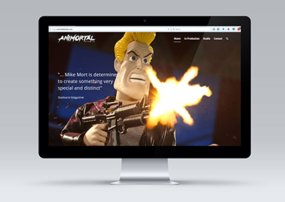 RES Digital Marketing - Portfolio Website Example - Film Studio