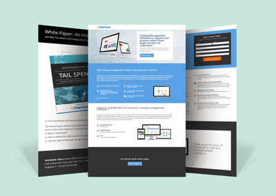RES Digital Marketing - Portfolio Landing Page Examples